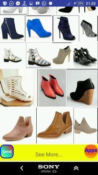 Ankle Boots Design screenshot 4
