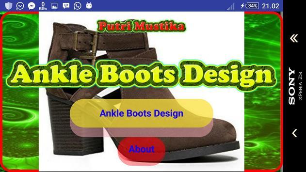 Ankle Boots Design screenshot 8