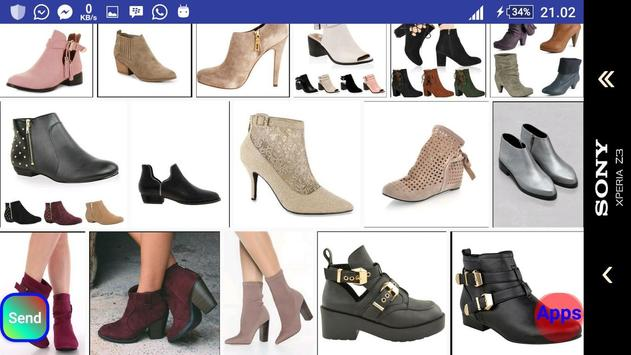Ankle Boots Design screenshot 17