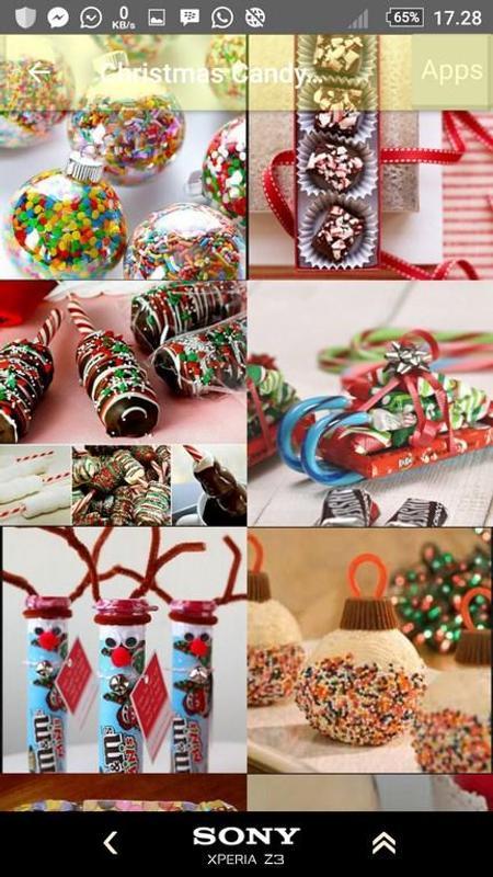 christmas candy gift ideas apk screenshot