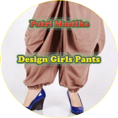 Girl Trousers Design icon