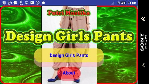 Girl Trousers Design screenshot 8