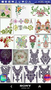 Embroidery Design screenshot 6