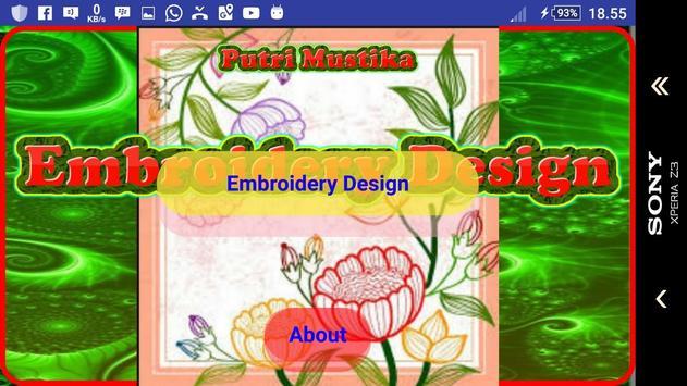 Embroidery Design screenshot 1