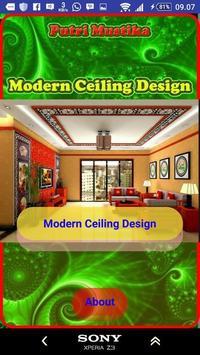 Modern Ceiling Design poster