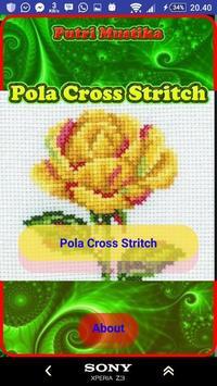 Pola Cross Stritch poster