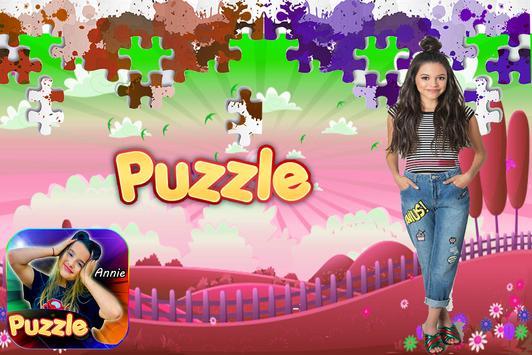 Annie Leblanc puzzle poster