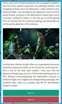 Guide for Batman Arkham screenshot 3
