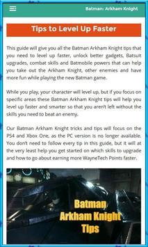 Guide for Batman Arkham screenshot 2