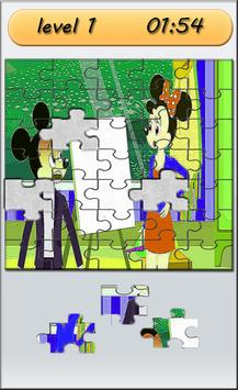 Puzzle For Cute Mickey poster