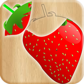 Fruits & Vegetables For Kids : Picture-Quiz icon