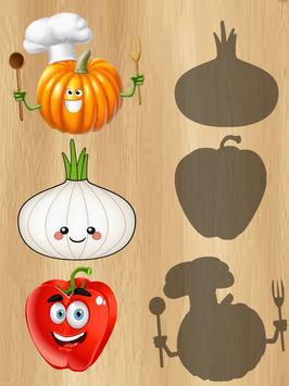 Fruits & Vegetables For Kids : Picture-Quiz screenshot 8
