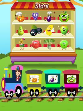 Fruits & Vegetables For Kids : Picture-Quiz screenshot 9