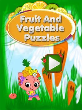 Fruits & Vegetables For Kids : Picture-Quiz screenshot 3