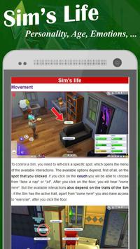 ProGuide for The Sim 4 apk screenshot