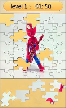 Puzzle super-heroes and princesse apk screenshot