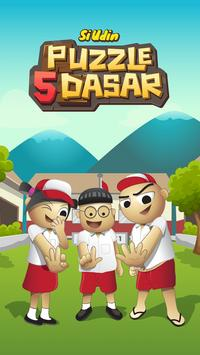 Si Udin : Puzzle5Dasar poster