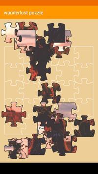 Wanderlust Jigsaw Puzzle poster