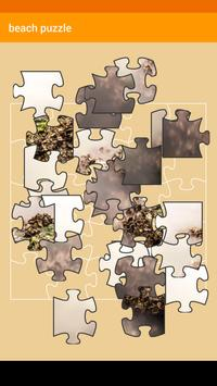 Beach Puzzle poster
