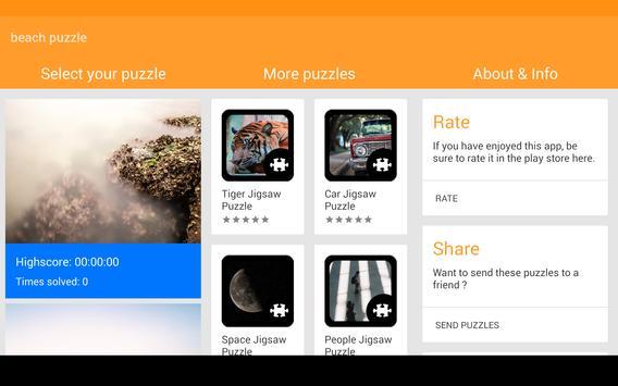 Beach Puzzle screenshot 11