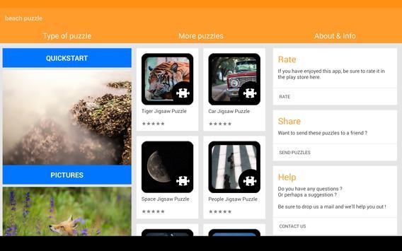Beach Puzzle screenshot 4