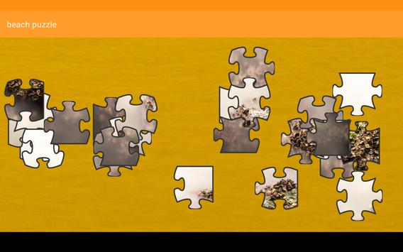 Beach Puzzle screenshot 9