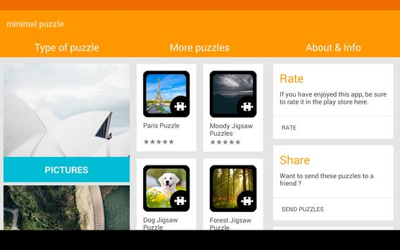 Minimal Jigsaw Puzzle apk screenshot
