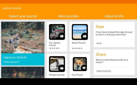 Squirrel Puzzle screenshot 10