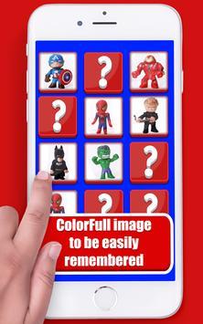 Puzzle Marvel Memory Toys screenshot 2