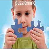 Puzzle mind enfants jigsaw icon