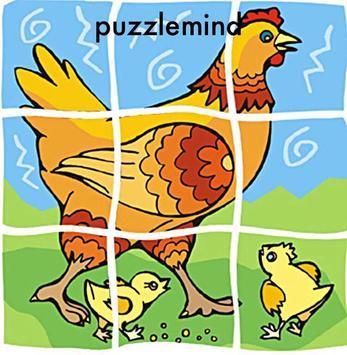 Puzzle mind enfants jigsaw poster