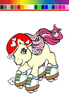 Little Pony Coloring screenshot 1