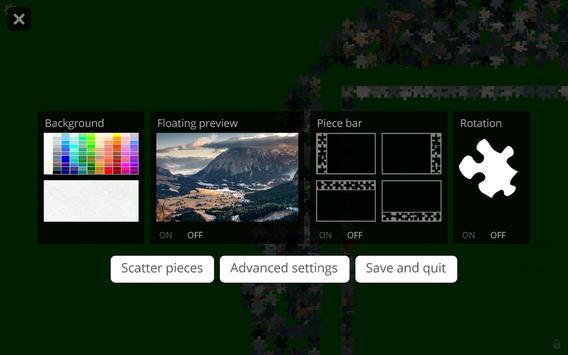 PuzzleBoss Unlimited Jigsaws screenshot 3