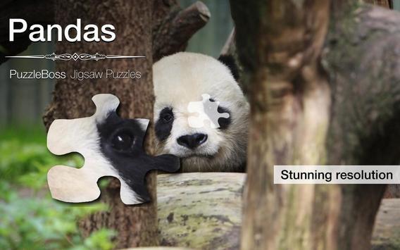 Jigsaw Puzzles: Pandas poster