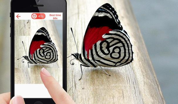 Butterfly Puzzle Game screenshot 2