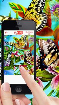 Butterfly Puzzle Game screenshot 1