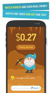 Gold Digger - real cash poster