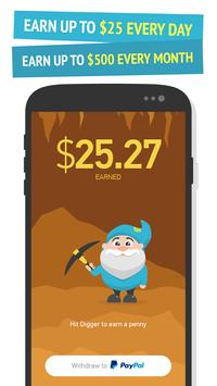 Gold Digger - real cash screenshot 1