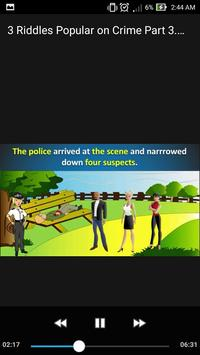 3 Riddles Popular on Crime Part 3. Puzzle Mystery poster