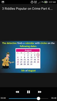 3 Riddles Popular on Crime Part 4. Puzzle Mystery screenshot 5