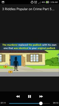 3 Riddles Popular on Crime Part 5. Puzzle Mystery poster