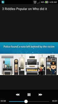3 Riddles Popular on  Who did it? Can you Solve it poster