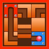 Unblock Route : slide puzzle Game icon