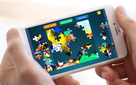 Jigsaw Puppy Patrol Lego screenshot 4
