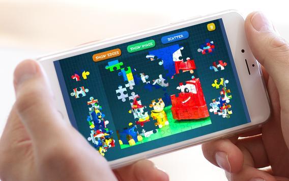 Jigsaw Puppy Patrol Lego screenshot 6
