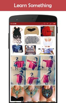 DIY Fashion Clothes Idea screenshot 3