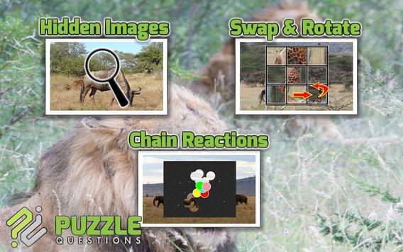 Free Africa Animal Puzzle Game apk screenshot