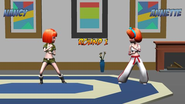 Girl Fight 3D Fighting Games poster