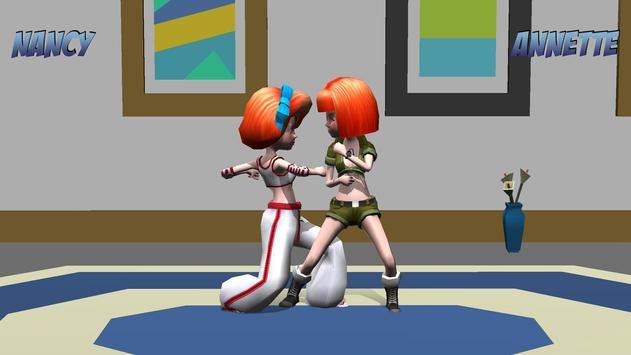 Girl Fight 3D Fighting Games apk screenshot