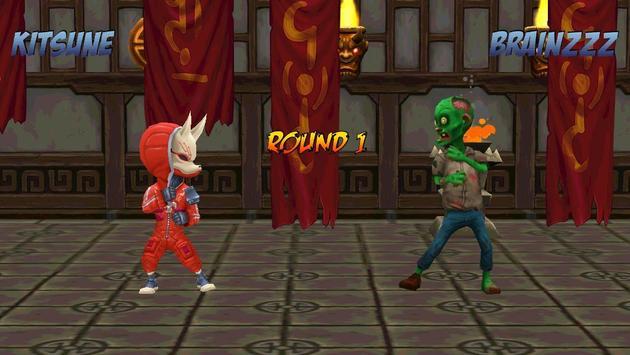 Ninja Vs Zombies 3D Fight poster